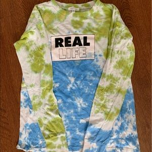 Urban outfitters long sleeve Tie dye shirt